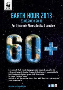 Earth hour 2013