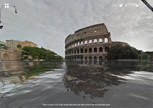 World Under Water -le città dopo il surriscaldamento globale