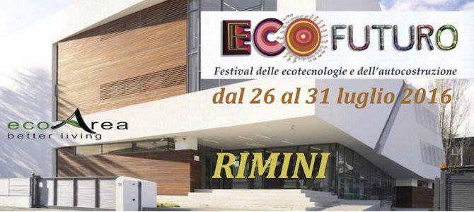 A Rimini il Festival Ecofuturo per la giornata dell'energia